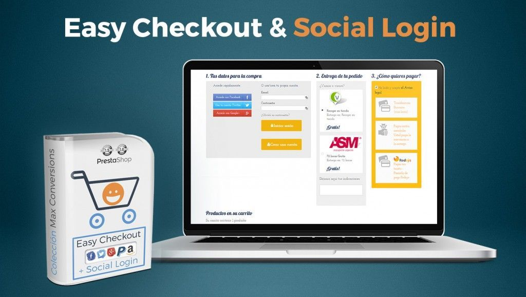 modulo one page Checkout PrestaShop