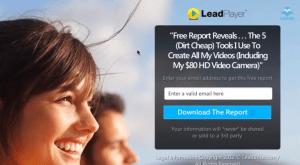 ejemplo de landing page para leads